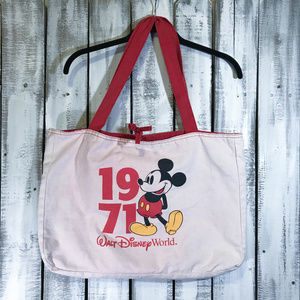 DISNEY PARKS 1971 WDW Mickey Reversible Tote Bag